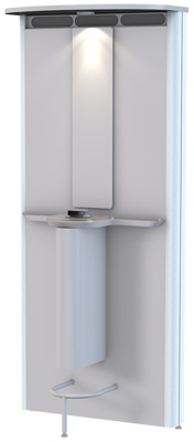 AirQlean Slim for smoking rooms